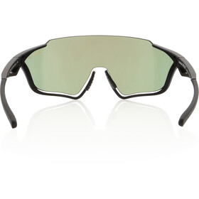 Red Bull SPECT Pace Sunglasses, matte black/smoke-bronze